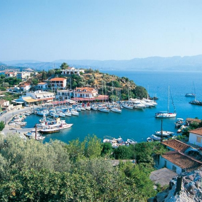 Saronic gulf islands & East Peloponnese